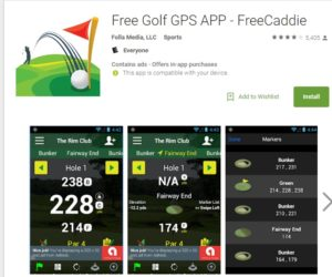 FreeGolfApp